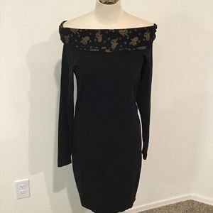 French connection off shoulder dress, size large